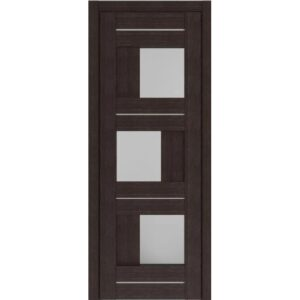 Межкомнатная дверь Аврора D-3 (Венге, остеклённая)