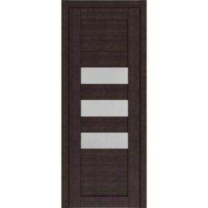 Межкомнатная дверь Аврора D-4 (Венге, остеклённая)