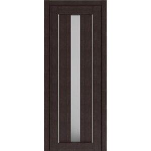Межкомнатная дверь Аврора D-8 (Венге, остеклённая)