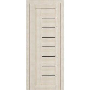 Межкомнатная дверь Аврора D-9 (Белёный дуб, остеклённая)