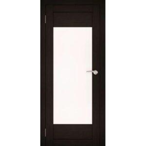 Межкомнатная дверь Аврора S-1 (Венге, остеклённая)
