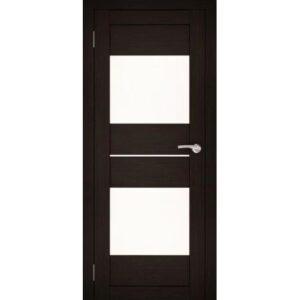 Межкомнатная дверь Аврора S-2/1 (Венге, остеклённая)