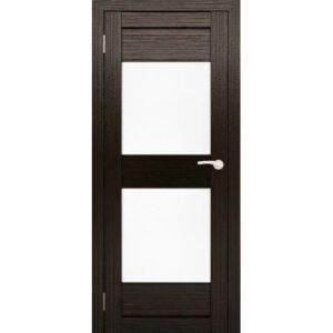 Межкомнатная дверь Аврора S-2 (Венге, остеклённая)