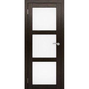 Межкомнатная дверь Аврора S-3 (Венге, остеклённая)