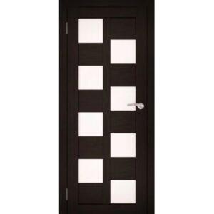 Межкомнатная дверь Аврора S-8 (Венге, остеклённая)
