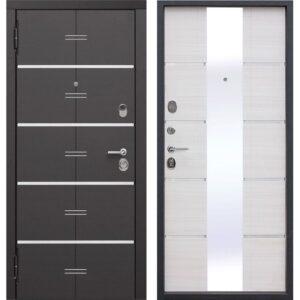 Входная дверь Европа (9,5 см, белый ясень)