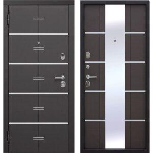 Входная дверь Европа (9,5 см, венге)