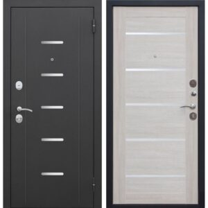 Входная дверь Гарда (муар, 7,5 см, лиственница бежевая, электронный замок)