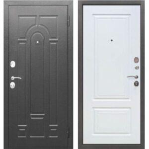 Входная дверь Гарда (серебро, белый ясень)