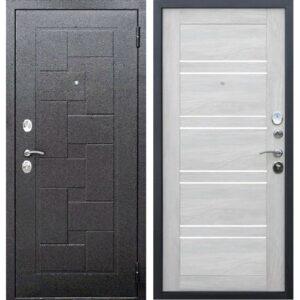 Входная дверь Гарда (серебро, шале белый)