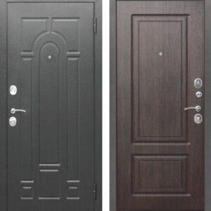 Входная дверь Гарда (серебро, венге)