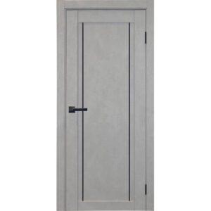Межкомнатная дверь Аврора City C-1 (Грей, глухая)