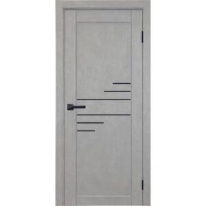 Межкомнатная дверь Аврора City C-10 (Грей, глухая)
