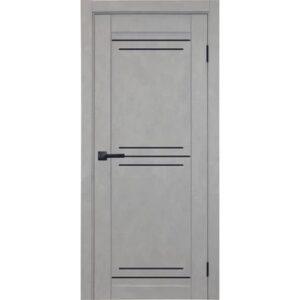 Межкомнатная дверь Аврора City C-12 (Грей, глухая)
