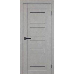 Межкомнатная дверь Аврора City C-4 (Грей, глухая)