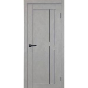 Межкомнатная дверь Аврора City C-6 (Грей, глухая)
