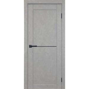 Межкомнатная дверь Аврора City C-7 (Грей, глухая)