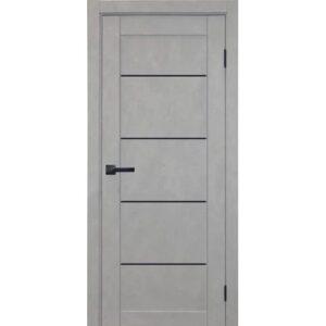 Межкомнатная дверь Аврора City C-8 (Грей, глухая)