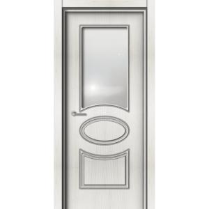 Межкомнатная дверь Аврора EcoDoors ДО Э-10 (остеклённая)