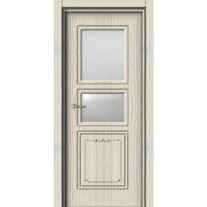Межкомнатная дверь Аврора EcoDoors ДО Э-11-2 стекла (остеклённая)