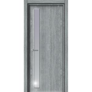 Межкомнатная дверь Аврора EcoDoors ДО Э-12 (остеклённая)