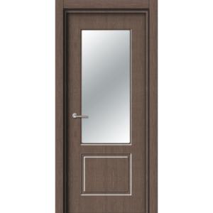 Межкомнатная дверь Аврора EcoDoors ДО Э-2 (остеклённая)