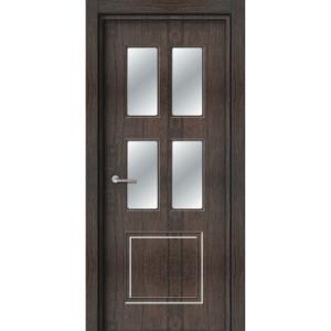 Межкомнатная дверь Аврора EcoDoors ДО Э-3 (остеклённая)