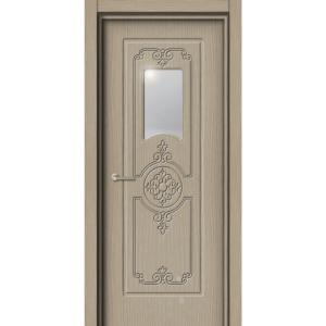 Межкомнатная дверь Аврора EcoDoors ДО Э-4 (остеклённая)