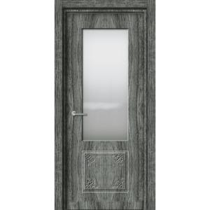 Межкомнатная дверь Аврора EcoDoors ДО Э-5 (остеклённая)