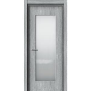 Межкомнатная дверь Аврора EcoDoors ДО Э-6 (остеклённая)