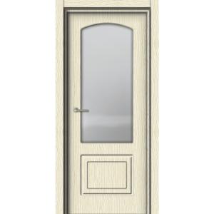 Межкомнатная дверь Аврора EcoDoors ДО Э-7 (остеклённая)