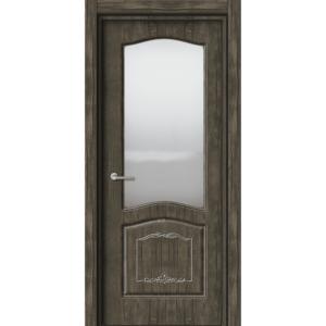 Межкомнатная дверь Аврора EcoDoors ДО Э-8 (остеклённая)