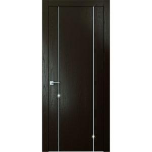 Межкомнатная дверь Аврора Intel I-7 (Венге, глухая)