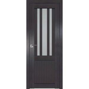 Межкомнатная дверь Аврора Loft L-1 (Венге, остеклённая)