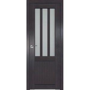 Межкомнатная дверь Аврора Loft L-2 (Венге, остеклённая)