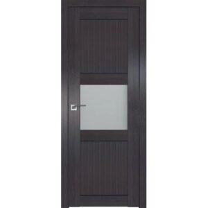 Межкомнатная дверь Аврора Loft L-4 (Венге, остеклённая)