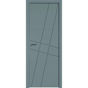 Межкомнатная дверь Аврора Milling M-1 (Грей, глухая)
