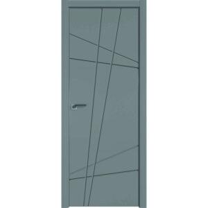 Межкомнатная дверь Аврора Milling M-12 (Грей, глухая)