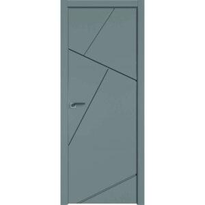 Межкомнатная дверь Аврора Milling M-13 (Грей, глухая)