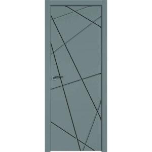 Межкомнатная дверь Аврора Milling M-14 (Грей, глухая)