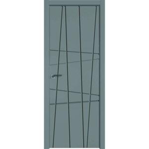 Межкомнатная дверь Аврора Milling M-15 (Грей, глухая)