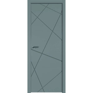 Межкомнатная дверь Аврора Milling M-16 (Грей, глухая)