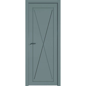 Межкомнатная дверь Аврора Milling M-3 (Грей, глухая)