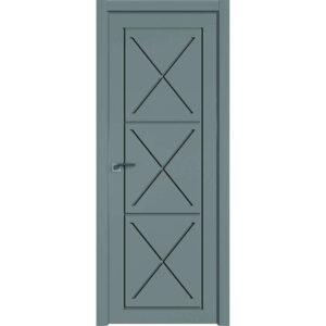 Межкомнатная дверь Аврора Milling M-4 (Грей, глухая)