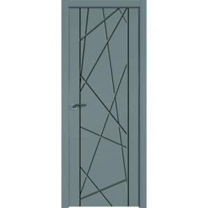Межкомнатная дверь Аврора Milling M-7 (Грей, глухая)