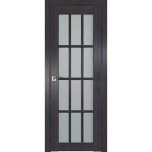 Межкомнатная дверь Аврора Q-2 (Венге, остеклённая)