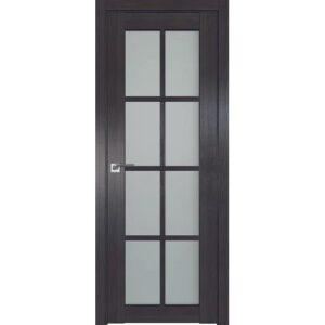 Межкомнатная дверь Аврора Q-3 (Венге, остеклённая)