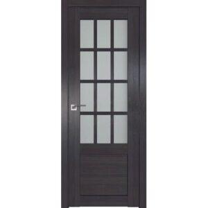 Межкомнатная дверь Аврора Q-7 (Венге, остеклённая)