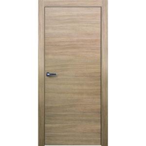 Межкомнатная дверь Аврора Twist T-1 (Беленый дуб, глухая)