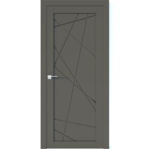 Межкомнатная дверь Аврора Vector V11 (Грей, глухая)